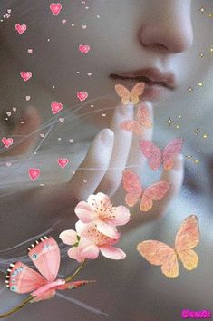 The perfect Beautiful Hearts Butterfly Animated GIF for your conversation. Discover and Share the best GIFs on Tenor. Blue Butterfly Wallpaper, Butterfly Gif, Fairy Wallpaper, Flower Phone Wallpaper, Cute Girl Wallpaper, Beau Gif, Animated Heart, Lovely Girl Image, Flowers Gif
