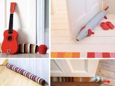 Come creare un paraspifferi con i fai da te - Rubriche - InfoArredo - Arredamento e Design per la tua casa