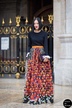 #New on #STYLEDUMONDE http://www.styledumonde.com with @handinfire #TiffanyHsu at #paris #fashionweek #pfw #peterpilotto #roksandailincic #outfit #ootd #streetstyle #streetfashion #streetchic #streetsnaps #fashion #mode #style