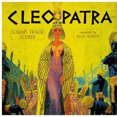 Alex North - Cleopatra by LP Cover Art, via Flickr