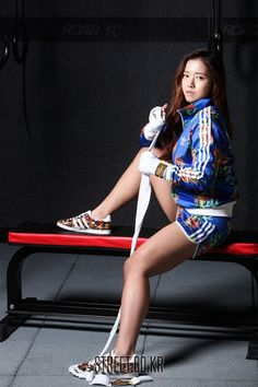 로드FC 송가연 화보 사진 / Song Ga Yeon