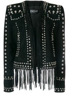 Balmain stud embellished blazer