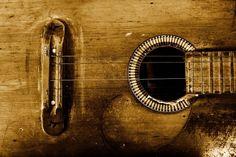 Old Guitar photowallpaper