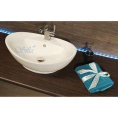 Umywalka nablatowa - Model 6173