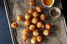 Fried Goat Cheese with Honey and Black Pepper recipe on Food52
