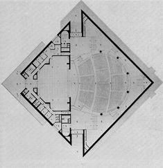 Vicenza Theatre, Italy, Ignazio Gardella, 1979