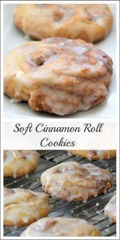 Monster Cinnamon Roll Cookies #cake #cinnamon #cookie #rollcookie #sweet