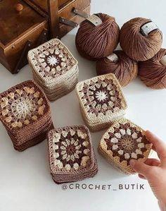 61 Best Ideas For Crochet Patterns For Beginners Blanket Cats Crochet - Diy Crafts - hadido Crochet Cat Pattern, Granny Square Crochet Pattern, Crochet Squares, Crochet Blanket Patterns, Crochet Granny, Crochet Motif, Crochet Flowers, Crochet Baby, Knitting Patterns