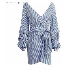 Cami Off Shoulder Long Sleeve Dress ($47) ❤ liked on Polyvore featuring dresses, off shoulder long sleeve dress, off shoulder dress, blue off the shoulder dress, blue cami and off the shoulder dress