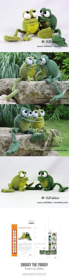 Snoggy The Froggy Amigurumi Pattern