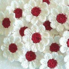 Edivana Croche Lindas Flores Coloridas