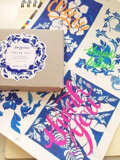 Sneak peek - #bluebotanica #thankyou #flatnotes Can't wait to reveal!