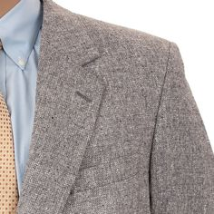 #MensRetroSportCoat #FleckedBlazer #VintageTweedBlazer Sport Coat Silk #Vintage70sClothing John Weitz 44R Suit Jacket #JohnWeitz #PreOwnedVintageClothing #SomeLikeItUsed