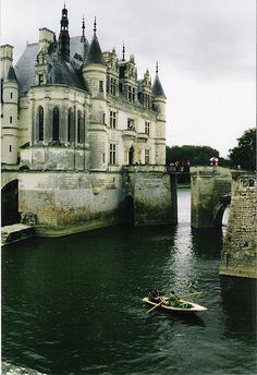The Château de Chenonceau is a French château near the small village of Chenonceaux, in the Indre-et-Loire département of the Loire Valley in France. The original château was torched in 1412 to punish owner Jean Marques for an act of sedition.
