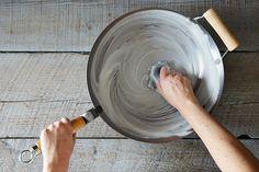 Season your wok for a lifetime of good stir-frys.