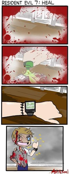 See more 'Resident Evil / Biohazard' images on Know Your Meme! Resident Evil Anime, Resident Evil 7 Biohazard, Resident Evil 3 Remake, Evil Meme, Little Misfortune, Dino Crisis, Good Horror Games, Umbrella Painting, Evil Art