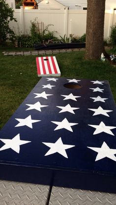 Stars & Stripes Cornhole Boards