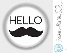 button moustache