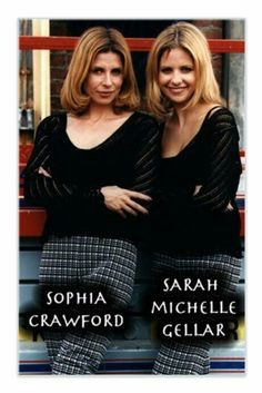 SMG with her stunt double Sophia Michelle, Stunt Woman, Gothic Baby, Stunt Doubles, All Tv, Buffy Summers, Tv Couples, Firefly Serenity, Television Program