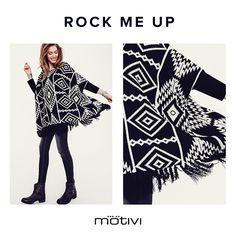 Back to office? Affrontatelo portando con voi l'energia frizzante di un look rock chic! #RockChic #RockMeUp #Black #Shopping #MotiviFashion #Fw2016 #Motivi #Miroglio #New