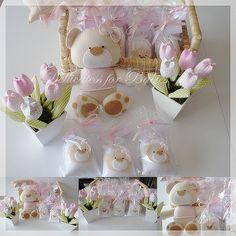 Para a maternidade...ursinha!! by ♥ Silvana Domiciano - Dellicatess for Babies ♥, via Flickr