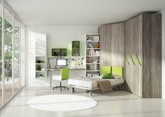Download the catalogue and request prices of teenage bedroom Tiramolla 125, design Marelli e Molteni, Tiramolla collection to manufacturer Tumidei
