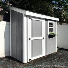 I& in the middle of a HUGE project in my backyard that I& excited to share with you all soon, but in the meantime here are 15 Summer Outdoor Projects! Build A Shed Kit, Build Your Own Shed, Shed Kits, Diy Shed, Lean To Shed, Building A Storage Shed, Storage Shed Plans, Storage Ideas, Building Ideas
