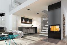 Duża przestrzeń, jasność, ciepło ognia z kominka... w skrócie: salon idealny! #design #urządzanie #urząrzaniewnętrz #urządzaniewnętrza #inspiracja #inspiracje #dekoracja #dekoracje #dom #mieszkanie #pokój #aranżacje #aranżacja #aranżacjewnętrz #aranżacjawnętrz #aranżowanie #aranżowaniewnętrz #ozdoby #salon #salony #kominek #kominki #ciepło