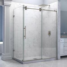 How much does a shower and tub door and installation cost?
