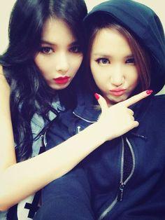 Hyuna and EXID's LE