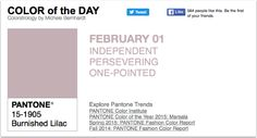 APPart – Mobile Art – Pantone Color of the Day – 'Burnished Lilac' – TheAppWhisperer