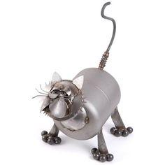 Freo the Fat Cat Sculpture Yardbirds Richard Kolb