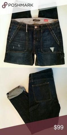 LEVEL 99 Dark Rinse Relaxed Lilly Jeans NWT! LEVEL 99 Dark Rinse Relaxed Straight Leg Lilly Jeans NWT!  🚫No Trades 🙄😘  🔘Use OFFER button to negotiate👍🤑 🔘Please Ask ❓'s BEFORE you Buy🤔😃 💕Thank you for stopping by! Happy Poshing!💕 Level 99 Jeans Boyfriend