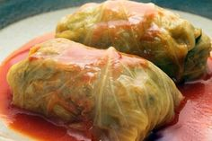 Crockpot Stuffed Cabbage Rolls. They are so good!! I'll use either ground turkey or ground chicken for this recipe. #crockpot #stuffedcabbagerolls #cabbagerolls