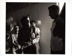 "A great photo of a raid on Wallace Berman's ""obscene"" exhibition."