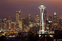 Space Needle, Seattle, USA