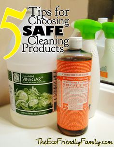 5 Tips for Choosing Safe Cleaning Products