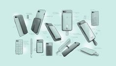 Plus - Phone case and power pack on Behance