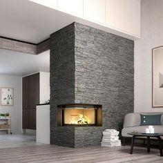 Rais Stoves | Visio 2 Corner Inset Fireplace 7kw