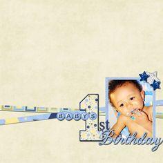 babys first birthday - Scrapbook.com