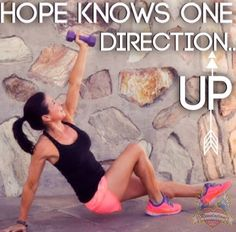Hope knows one direction...UP!
