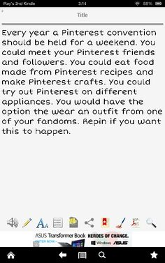 DON'T STOP RE- PINNING! Pinterest I hope you get this we really should do this