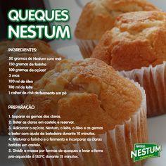 Cozinhar queques Nestum torna tudo mais fácil na hora de partilhar com a família! Partilhem também connosco! Não os queques, mas o resultado! :)