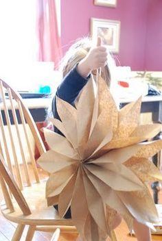 flowers made from brown paper bag wedding-wedding-wedding