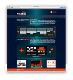 Vigamus | Web Interface Restyling | by Eugenio De Riso, via Behance