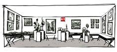 Encore des places pour le salon d'art contemporain BUSINESS ART 2014 avec Galerie Numéro 1!  4 jours d'expo à Paris, Champs Élysées   #galerienumero1 #gn1 #businessart   Projet du stand Galerie Numéro 1 Business Art Automne