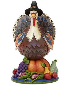 Jim Shore Thanksgiving Collectible Figurines Collection - Holiday Lane - Macy's