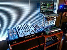 Post with 21 views. Audio Studio, Recording Studio Home, Home Studio, Dj Setup, Room Setup, Dj Sound, Dj Gear, Dj Equipment, Musica
