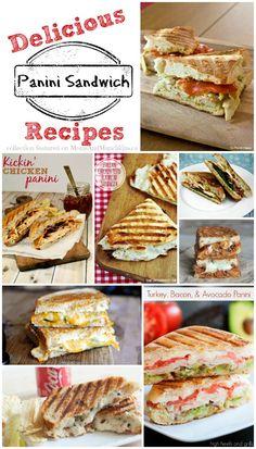 Panini Sandwich Recipes #Panini