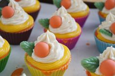 Peach Soap Cupcake Remakes by Sweet Soft Skin Handmade Soaps
